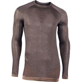 UYN Cashmere Silky UW Longsleeve Shirt Heren, bruin